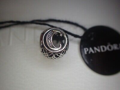 AU35.68 • Buy Authentic Pandora  Vintage Letter  C  Charm 791847CZ  New W/ Tag And Gift Pouch