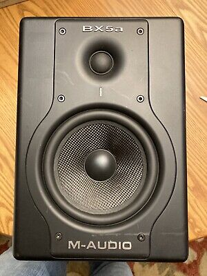 $10 • Buy M-Audio BX5a Studio Monitor Speaker For Parts Housing, Woofer And Tweeter