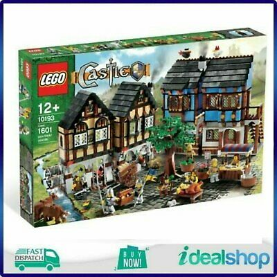 £458.60 • Buy LEGO 10193 - Medieval Market Village VERY RARE, NEVER OPENED