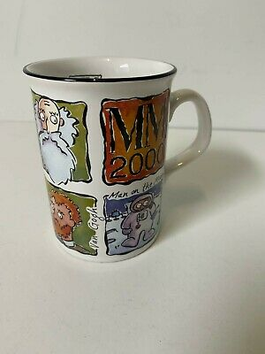 $15.12 • Buy MM 2000 Collectable Millennium Timeline Coffee Muh Cup Porcelain