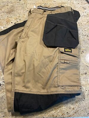 £20 • Buy SITE Men's Work Trousers 38/32 Brand New Tool And Knee Pockets