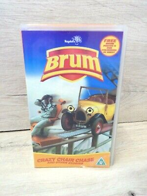 £12.99 • Buy Brum Crazy Chair Chase And Other Stories - Ragdoll Productions Vhs Video