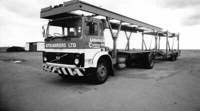 £1 • Buy Road Haulage Transport Lorry Photo-auto Carriers-volvo  Wagon & Drag