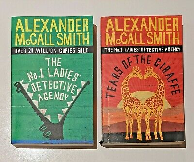 AU19.90 • Buy Alexander McCall Smith The No. 1 Ladies Detective Agency + Tears Of The Giraffe