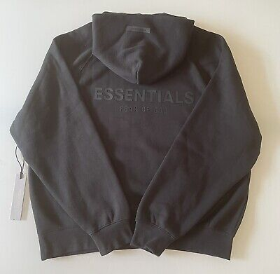 £130 • Buy Essentials Hoodie- Ss21- Stretch Limo- Size-M