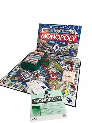 £9.99 • Buy Parker Monopoly Chelsea Edition Board Game (100% Complete) Football Retro 2008