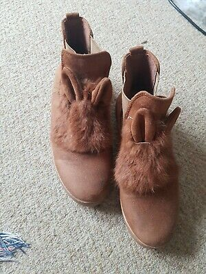 £5 • Buy Womens Bunny Ear Boots Size 7