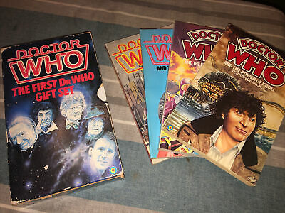 £10 • Buy Doctor Who The First Doctor Who Gift Set Target Book Books Rare