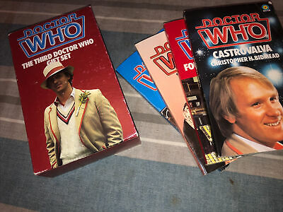 £10 • Buy Doctor Who The Third Doctor Who Gift Set Target Book Books Rare