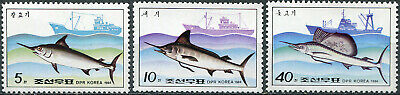 £6.52 • Buy Korea 1984 - Fish And Fishing Vessels - Set Of 3 Stamps MNH **