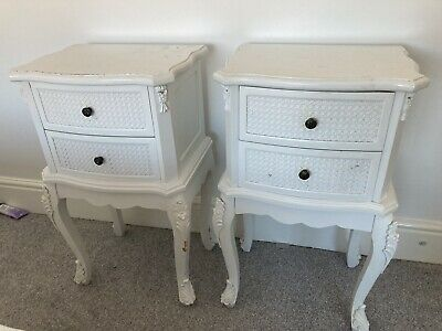 £150 • Buy La Rochelle Antique French Style Bedside Tables