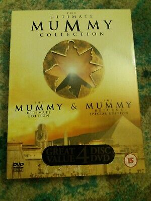 £0.45 • Buy The Ultimate Mummy Collection - The Mummy / The Mummy Returns (DVD, 2001, 4-Dis…