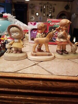 $0.99 • Buy M J Hummel Figurine From Germany, Napcoware Import-japan C8795,and Unknown...