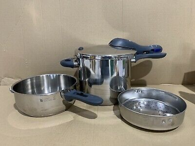 £84.99 • Buy WMF Perfect Plus Pressure Cooker 3l And 6.5l With Lid - Excellent Condition
