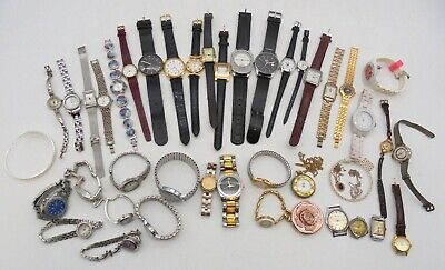 $ CDN22.33 • Buy Large Job Lot Of Watches Assorted Men's And Women's Wristwatches And Parts