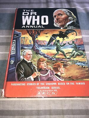 £10 • Buy Doctor Who Annual 1967 William Hartnell BBC World Distributors UnClipped