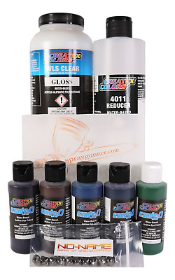 £66.64 • Buy Createx 2oz Candy2o Most Popular Paint Set With Reducer And 4050+BONUS