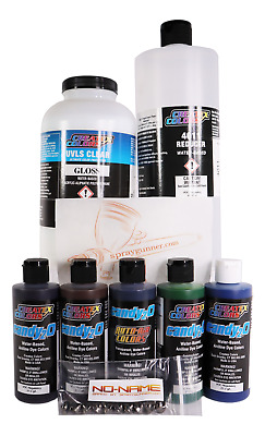 £110.10 • Buy Createx 4oz Candy2o Most Popular Paint Set With Reducer And 4050+BONUS