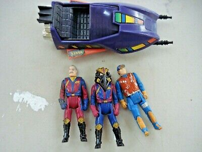$19.99 • Buy Toy Action Figures Lot MASK Miles Mayhem (2), D. Hayes, Side Car Accessory