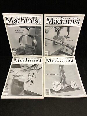 $17.99 • Buy The Home Shop Machinist Magazine, Lot Of 4, 2000