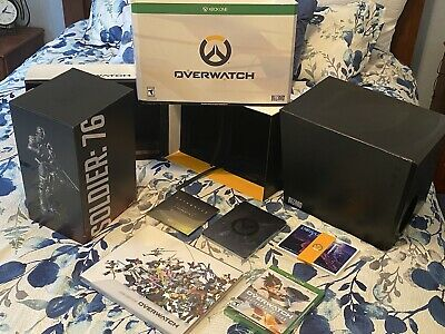 AU135.11 • Buy Xbox One Overwatch Collector's Edition ,Figurine, Source Book, W/ LEGENDARY Game