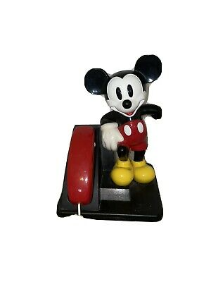 £21.55 • Buy MICKEY MOUSE AT&T Phone Collectable WALT DISNEY Has Not Been Tested