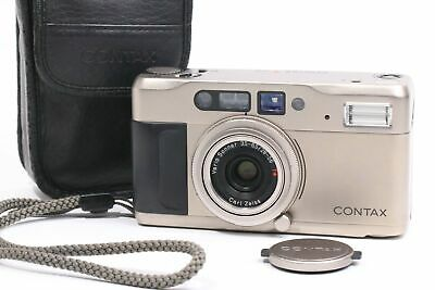 $ CDN509.84 • Buy [EXCELLENT Contax TVS With Data Back ,Leather Case (5248)