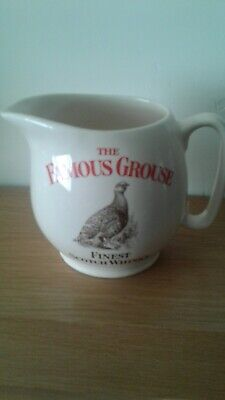 £4 • Buy A FAMOUS GROUSE Scotch Whisky Water Jug By Wade