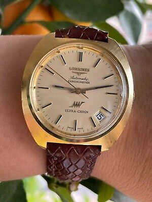£2154.92 • Buy Longines Watch 8356 Ultra Chron Automatic Cal.431 Gold 18k Solid Mens Serviced