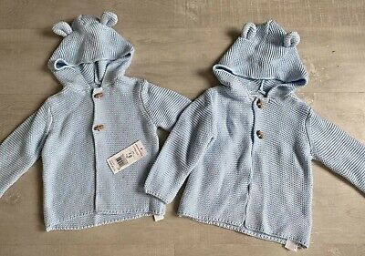 £8 • Buy Baby Boy Twin Jackets 9-12 Months