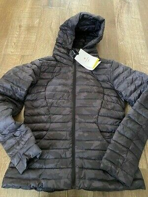 $ CDN199 • Buy Lululemon Pack It Down Jacket Size 10 NWT Incognito Camo