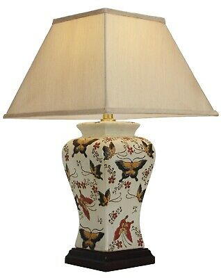 £129 • Buy NOW £30 OFF - Genuine Chinese Ceramic Porcelain Butterfly Table Lamp (M9955)