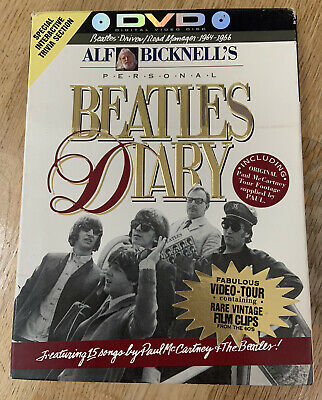 £2.99 • Buy **Alf Bicknell's Personal Beatles Diary DVD - 1997**