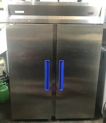 £600 • Buy Sterling Pro Upright Commercial Double Door Stainless Steel Freezer Catering