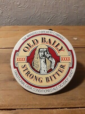 £1.50 • Buy Old Baily - Strong Bitter Vintage Beer Pump Badge (Mansfield Brewery)