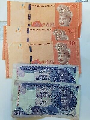 £2.12 • Buy 32 Malaysia Ringgit Banknotes Currency