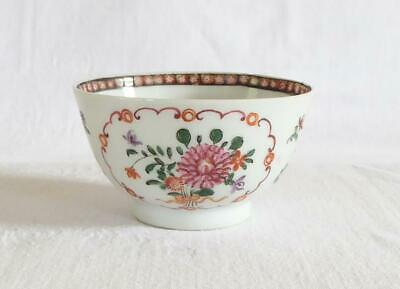 £9.99 • Buy Good Sized Antique 18th Century Chinese Famille Rose Porcelain Tea Bowl