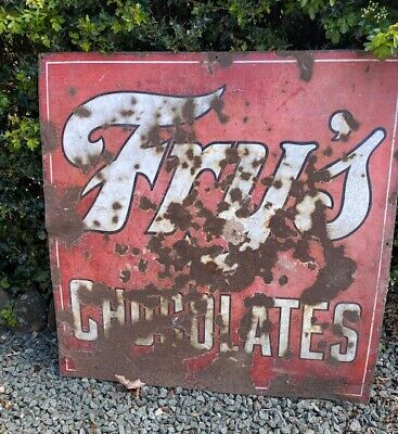 £160 • Buy Vintage Fry's Chocolates Sign