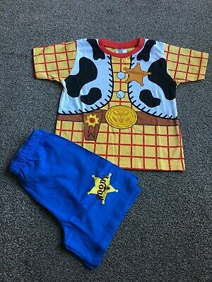 £5.99 • Buy Boys Toy Story Woody Short Pyjamas Size 3 - 4 Years - New Without Tags!!!
