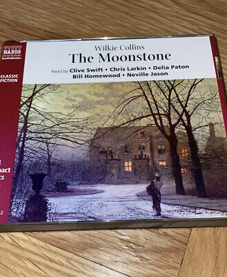 £4 • Buy The Moonstone By Wilkie Collins Audio Book