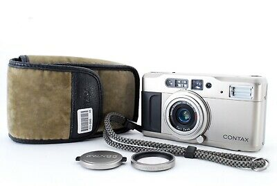 $ CDN323.70 • Buy 【 EXC 5 W/case 】 Contax TVS Point & Shoot 35mm Film Camera Carl Zeiss From Japan