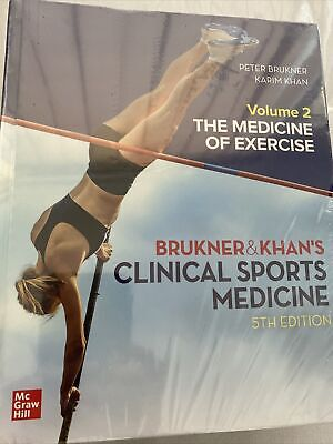 £72.40 • Buy VALUE PACK: CLINICAL SPORTS MEDICINE 5E - VOL 1 & 2 By Peter Brukner.