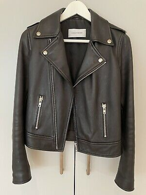 AU400 • Buy Scanlan Theodore Leather Jacket - AS New - Size 8 S Small