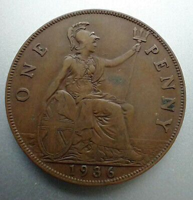 £0.45 • Buy 1936 George V One Penny Coin