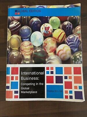 £11.99 • Buy International Business, Hill, Charles W. L., Good Condition Book, ISBN 978007716