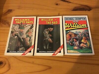 £5.99 • Buy Three William Paperback Books By Richmal Crompton