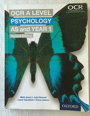 $ CDN5.15 • Buy OCR A Level Psychology AS And Year 1 Second Edition