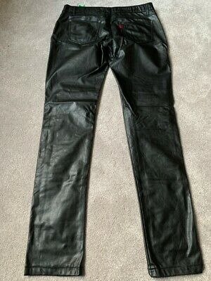 £120 • Buy Mens FETISH Hustler Pants LARGE GAY INTEREST Trousers (RUBBER LEATHER) HOT LOOK!