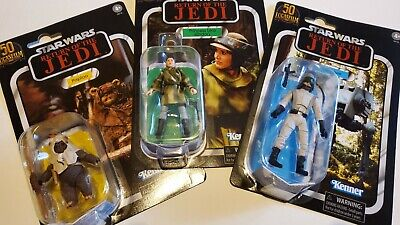 """$ CDN105 • Buy Star Wars The Vintage Collection Lot Of 3 Figures 3.75"""" Walmart Exclusives 2021"""
