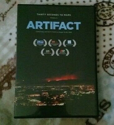 £15 • Buy Artifact - 30 Seconds To Mars DVD (in Both PAL And NTSC)